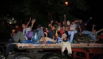 Capturan a organizador de la nueva caravana