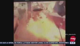 Nuevas imágenes de explosión en club de yates de Acapulco