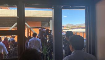 Intentan linchar a cinco delincuentes en Oaxaca