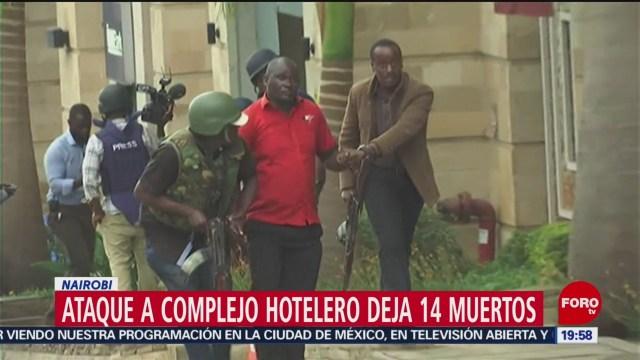 Ataque Complejo Hotelero Deja 14 Muertos Nairobi