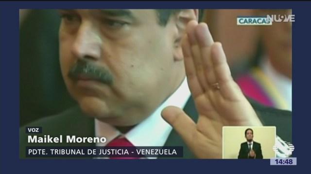 OEA desconoce al presidente Nicolás Maduro