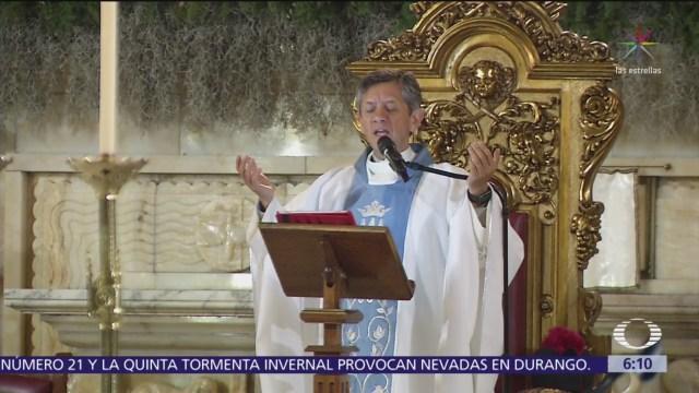 Ofician tradicional Misa de Gallo en Catedral Metropolitana