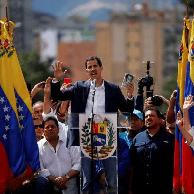 Líder del Parlamento de Venezuela se autoproclama presidente del país
