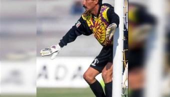 Foto: El legendario portero de la Selección Nacional Mexicana Pablo Larios Iwasaki, 31 enero 2019