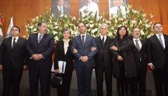 PAN rinde homenaje a Martha Érika Alonso y Moreno Valle