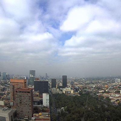 Prevén ambiente frío y lluvias en la Ciudad de México