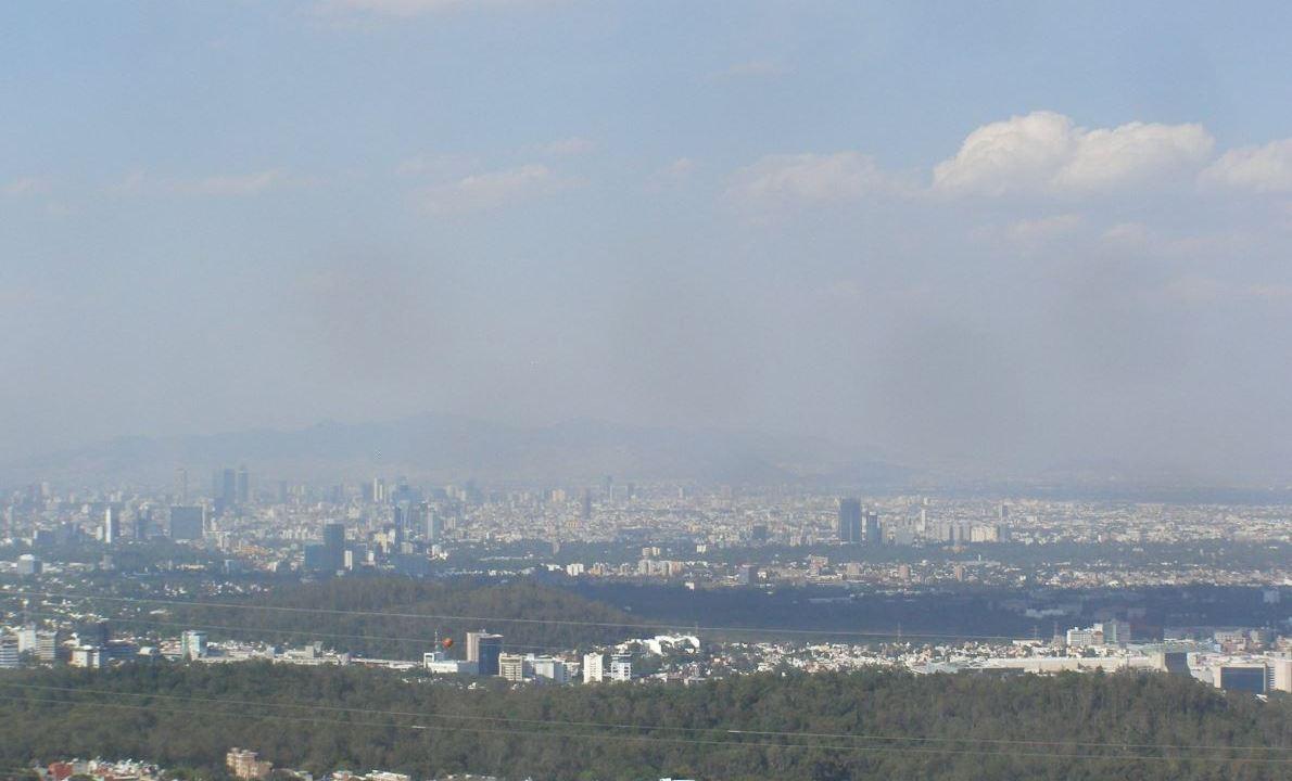 Foto: Ecatepec presenta mala calidad del aire, 26 enero 2019