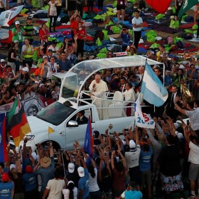 Papa habla de abusos de sacerdotes durante su visita a Panamá