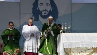 Foto: El Papa Francisco celebra una misa el parque metropolitano Campo San Juan Pablo II, en Panamá, 27 enero 2019