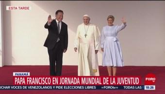 Papa Francisco se reunirá con miles de jóvenes en Panamá