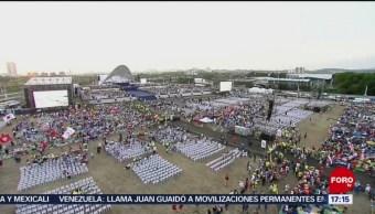 Foto, 26 enero 2019, Papa habla en Panamá sobre los pecados en la Iglesia