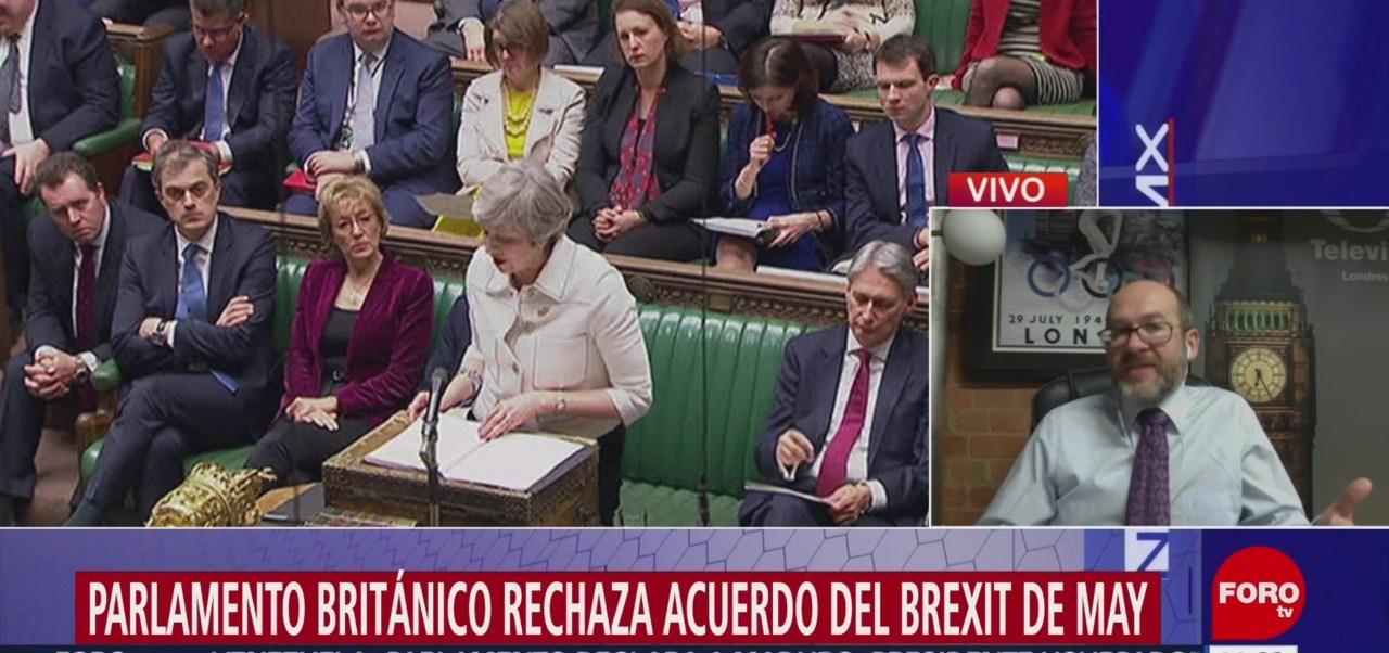 Parlamento Británico Rechaza Acuerdo Brexit May