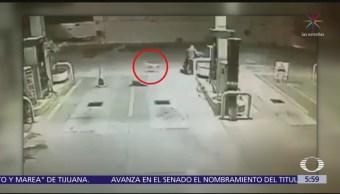 Perro frustra asalto a despachador de gasolinera en Tamaulipas