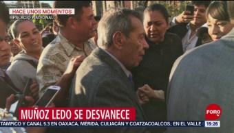 Foto: Porfirio Muñoz Ledo se desmaya 24 de enero 2019