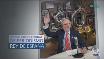 Foto: Premio 'Rey De España' a Joaquín López Dóriga