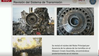 Foto: Gráficas sobre accidente helicóptero Puebla, 23 enero 2019, Ciudad de México