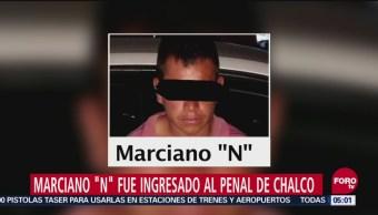 Presunto homicida de Camila ingresa a penal de Chalco