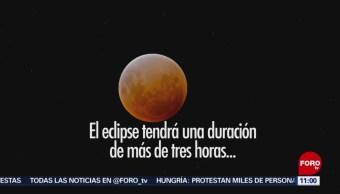 Primer eclipse lunar total se podrá ver en México