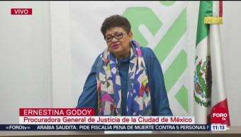 Procuradora aclara presuntos despidos en la PGJCDMX