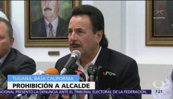 Prohíben al alcalde de Tijuana emitir mensajes contra migrantes