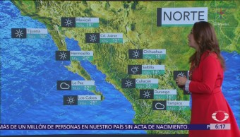 Pronostican bajas temperaturas y heladas en la mayor parte de México