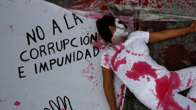 FOTO México reprueba en índice de Transparencia Internacional/ CDMX septiembre 2016