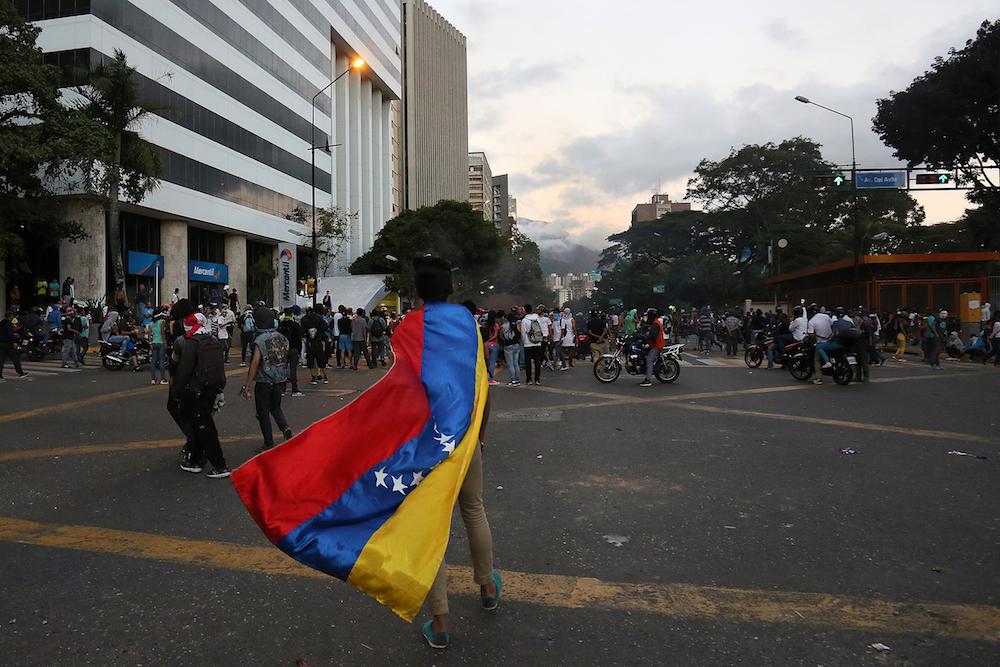 Foto qué está pasando Venezuela 24 enero 2018