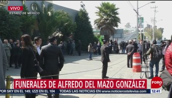 Realizan en Toluca funerales de exgobernador Del Mazo