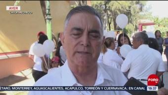 Realizan marcha por la paz en Chilpancingo, Guerrero