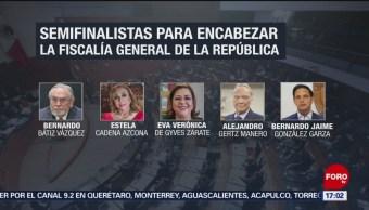 Reducen a 10, la lista de aspirantes a fiscal de la República