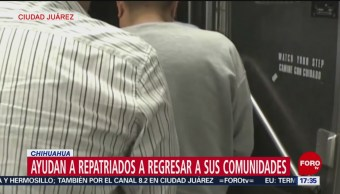 Repatrian a ciudadanos por Ciudad Juárez