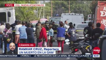 Reportan Un Muerto Por Balacera En Alcaldía Gustavo A. Madero, Un Muerto,Balacera, Alcaldía Gustavo A. Madero, Ramkar Cruz, Nueva Atzacoalco