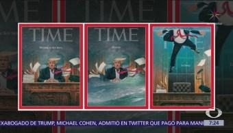Reporte Trump: Portadas de revistas contra el presidente de EU