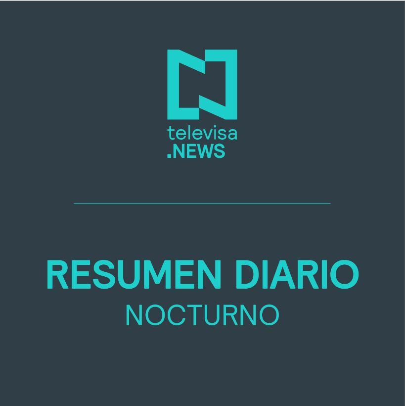 Foto: Noticias Destacadas Noche 29 Diciembre Noticieros Televisa