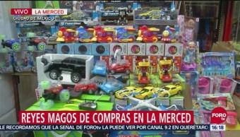 Reyes Magos De Compras En La Merced, Reyes Magos, Compras, La Merced, Ciudad De México, Mercado De La Merced