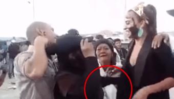 Video Así robaron celular Reina Carnaval