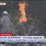 Detectan tomas clandestinas muy cerca de Tlahuelilpan, Hidalgo
