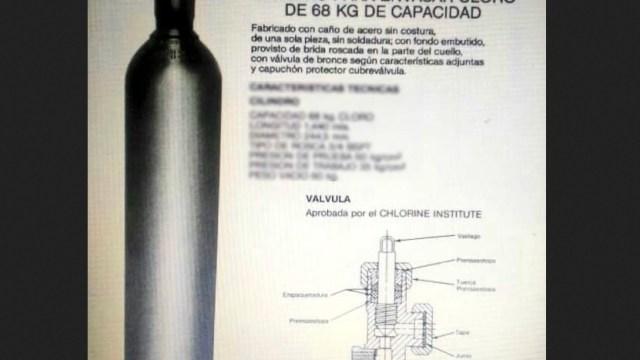 robo de cilindro con gas cloro en Guanajuato, emiten alerta