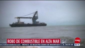 Foto: Robo Combustible Alta Mar 28 de Enero 2019