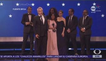 'Roma' de Alfonso Cuarón gana cuatro Critic's Choice Awards