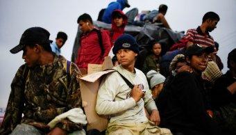 habitantes de tapachula, molestos por presencia de migrantes