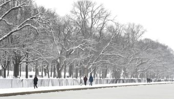 tormenta provoca fuertes nevadas en noreste de eeuu