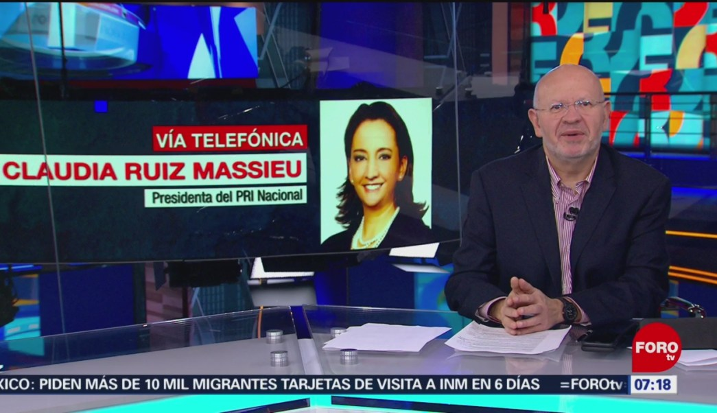 Ruiz Massieu: Se tiene que mejorar la minuta sobre la Guardia Nacional