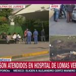 Atienden a heridos por explosión en Hidalgo en hospital de Lomas Verdes