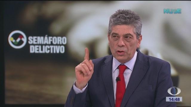Santiago Roel habla sobre los delitos que afectan al país