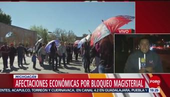 Foto: 13 Días Bloqueos Cnte Michoacán 28 de Enero de 2019