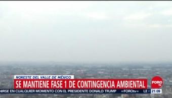 Se Mantiene Fase 1 De Contingencia Ambiental Al Noreste Del Valle De México, Fase 1 De Contingencia Ambiental, Noreste Del Valle De México, Comisión Ambiental De La Megalópolis (Came), Mantiene Fase 1 De Contingencia Ambiental