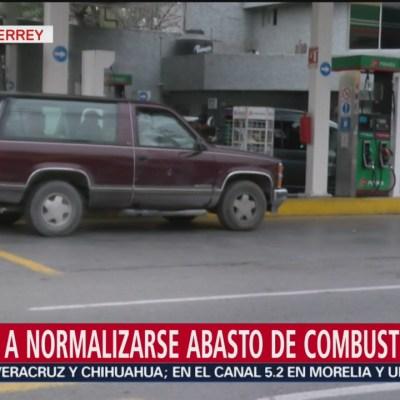 Se normaliza abasto de gasolina en Monterrey