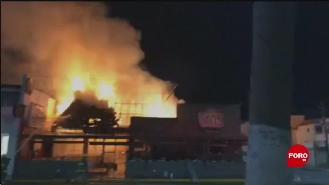 Incendio En Restaurante De Boca Del Río Veracruz