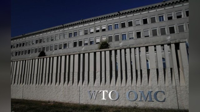 Foto: Sede de la Organización Mundial de Comercio en Ginebra, Suiza, 26 de julio 2018. (Archivo/Reuters)